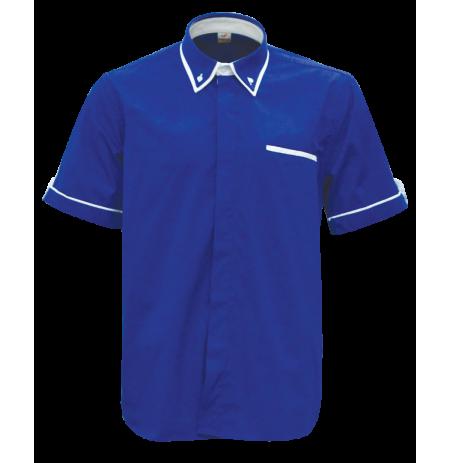 Royal Blue  (Short Sleeve Shirt)